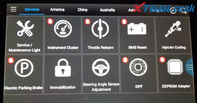 """Fixed the XTOOL PS90 Pro """"Abnormal Icon display"""" Error"""