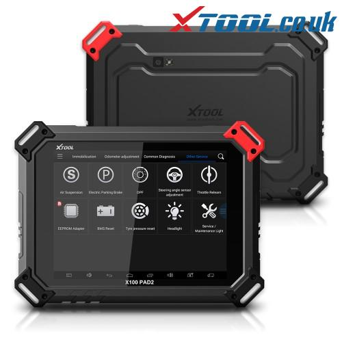 XTOOL X100 PAD2 Pro Nissan Key Programming Function Overview