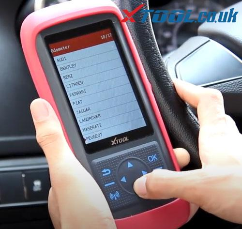 X100 Pro2 European Mileage Correction Car List 6