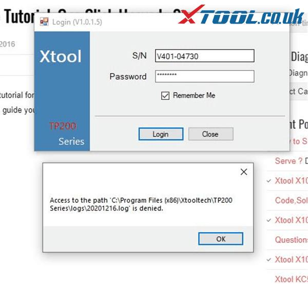 Xtool Vag401 Update Guide 1