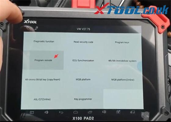 Xtool X100 Pad2 Pro Vw Car List 11
