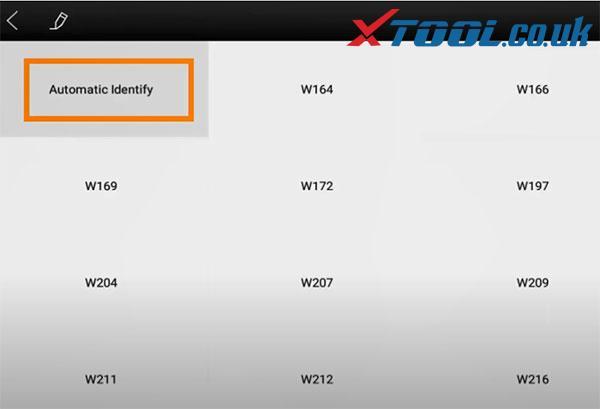 Xtool X100 Pad3 Benz Immo Car List 7