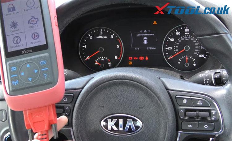 X100 Pro2 Kia Mileage Correction Car List 1