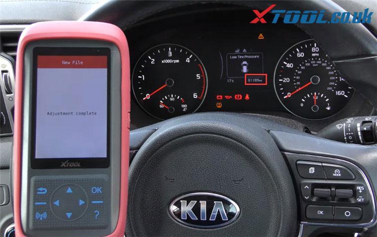 X100 Pro2 Kia Mileage Correction Car List 11