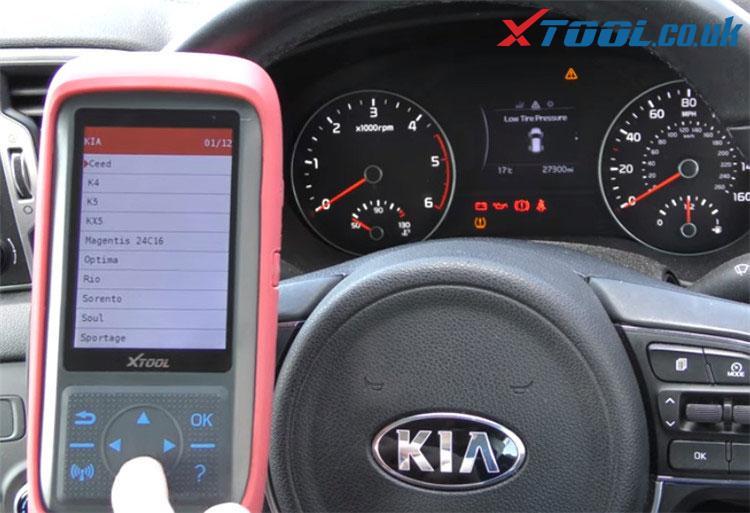 X100 Pro2 Kia Mileage Correction Car List 4