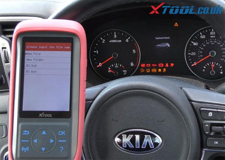 X100 Pro2 Kia Mileage Correction Car List 7