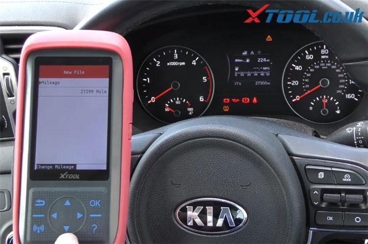 X100 Pro2 Kia Mileage Correction Car List 9