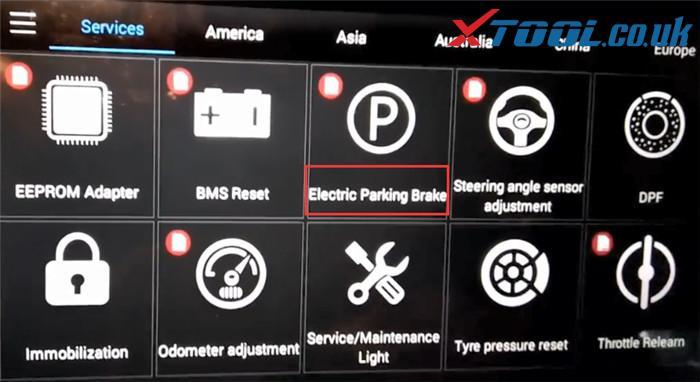 Xtool Ps90 Bmw Epb Reset Car List 2
