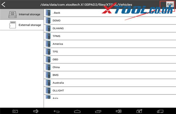 Xtool Scanner Storage Space Is Running Out Solution 4