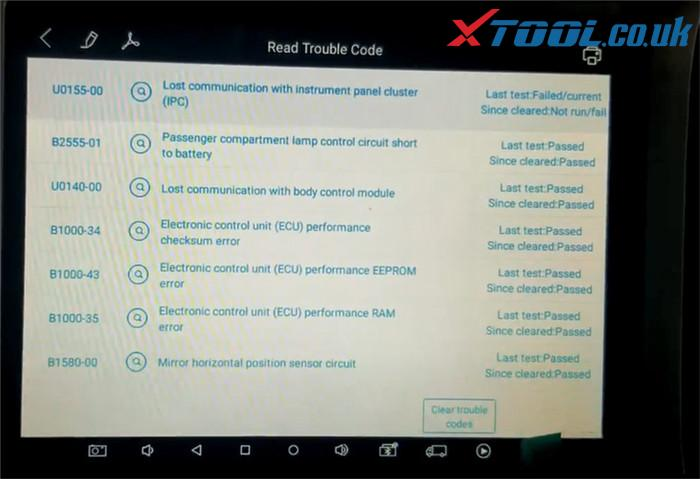 Xtool X100 Pad3 Diagnose 2007 Chevrolet Tahoe 14