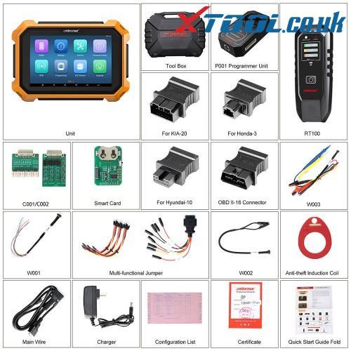Obdstar X300 Dp Plus Package