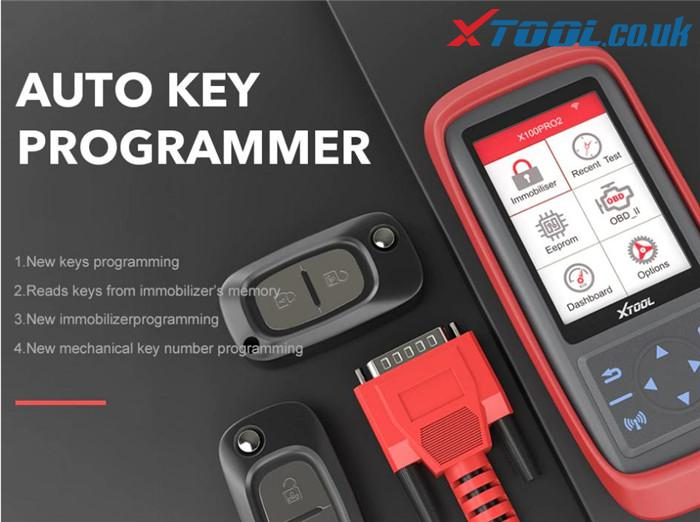Xtool X100 Pro2 Citroen Key Program Guide 1