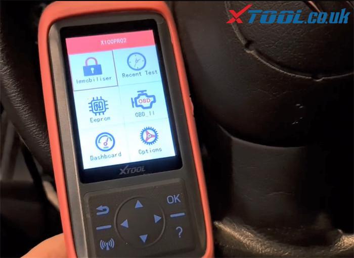 Xtool X100 Pro2 Citroen Key Program Guide 2