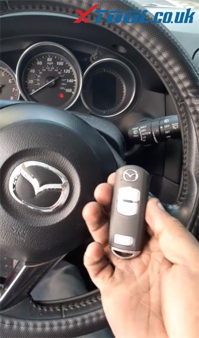 X100 Pro2 Mazda Cx5 2014 Add Key 1