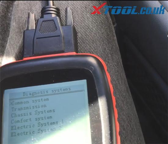 Xtool V401 Test Dashboard Audi Tt Mk1 2