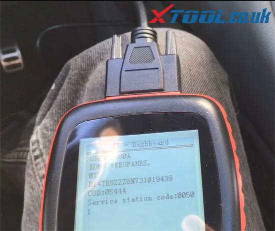 Xtool V401 Test Dashboard Audi Tt Mk1 4