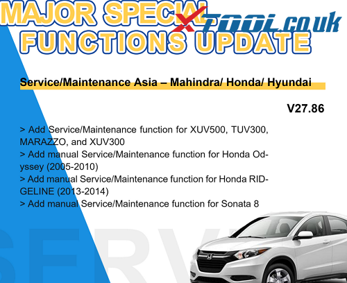 Xtool Sepcial Functions Update