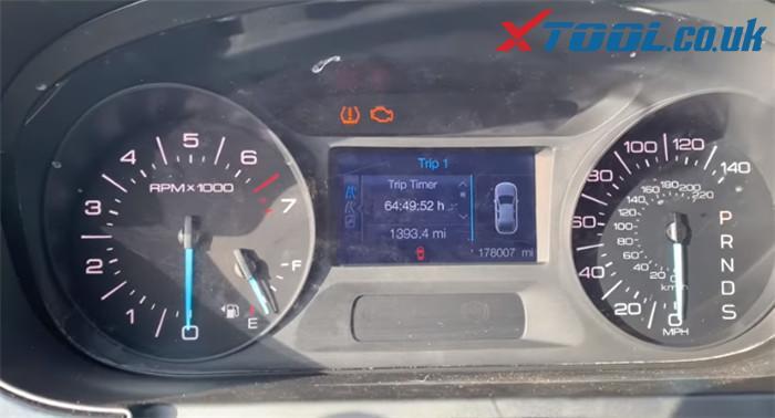 Xtool X100 Pad2 Change Mileage Ford Egde 2013 1