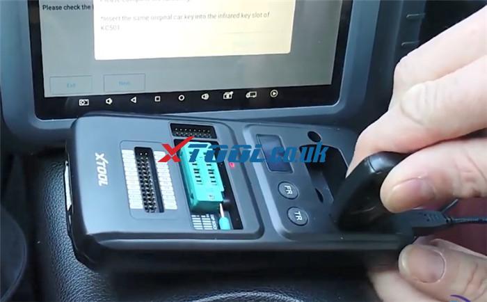 X100 Pad3 Kc501 Program Benz Clk 2006 7