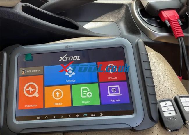 Xtool A80 Pro Program Honda City 1