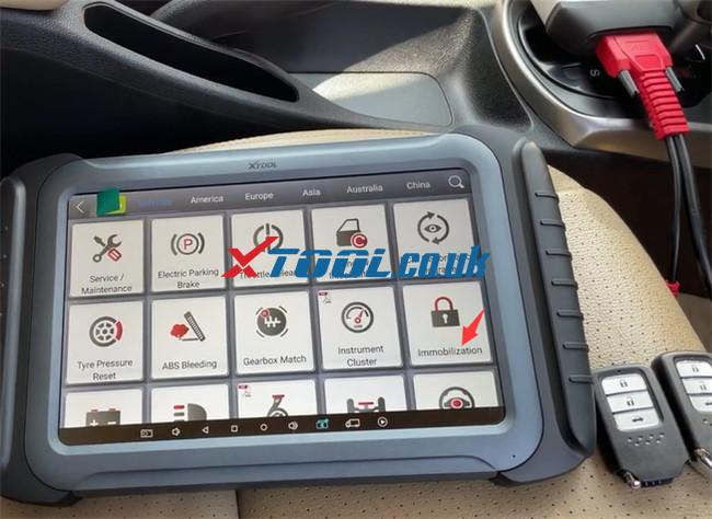 Xtool A80 Pro Program Honda City 2