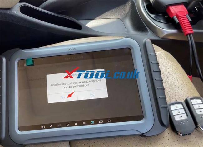 Xtool A80 Pro Program Honda City 4