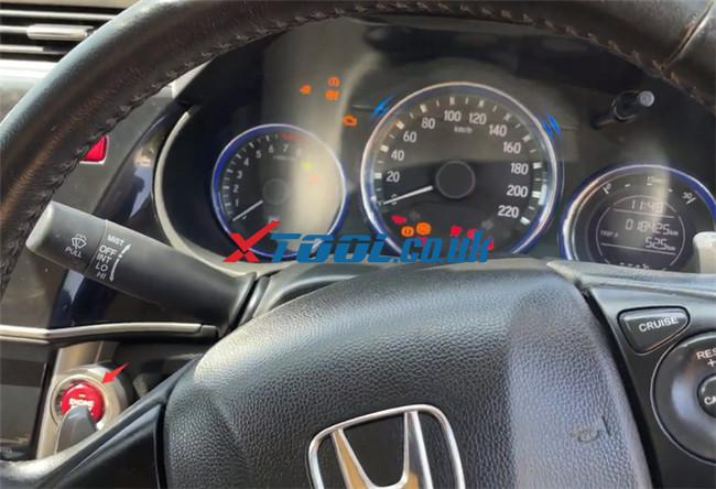 Xtool A80 Pro Program Honda City 5