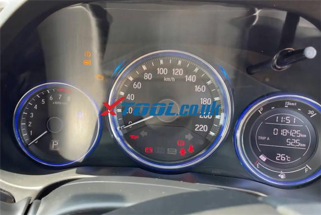 Xtool A80 Pro Program Honda City 9