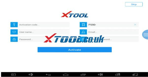 Xtool Ps90 White Screen After Initialization Solution 3