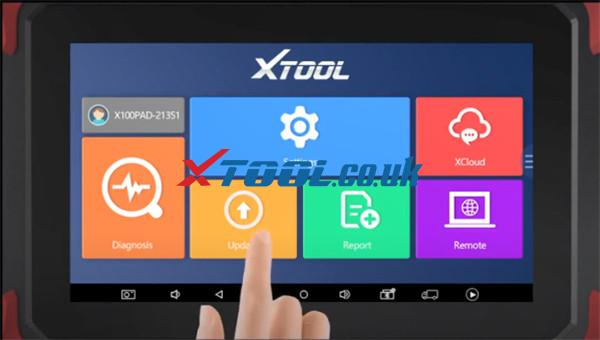 Xtool X100 Pad Activate Update Guide 6