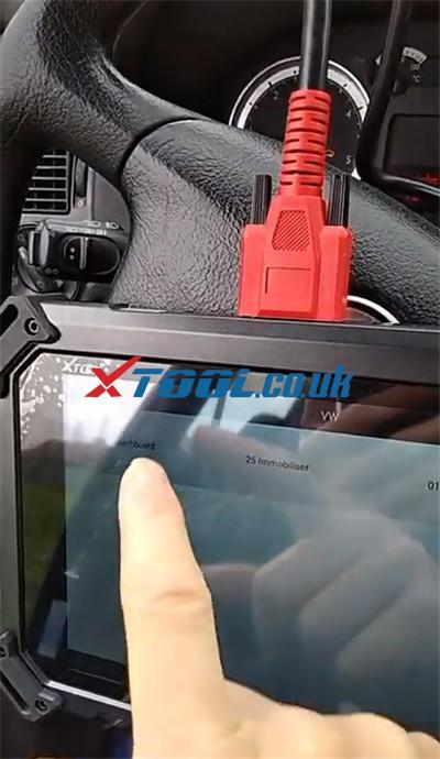 Xtool X100 Pad2 Vw Immo 3 Akl 3
