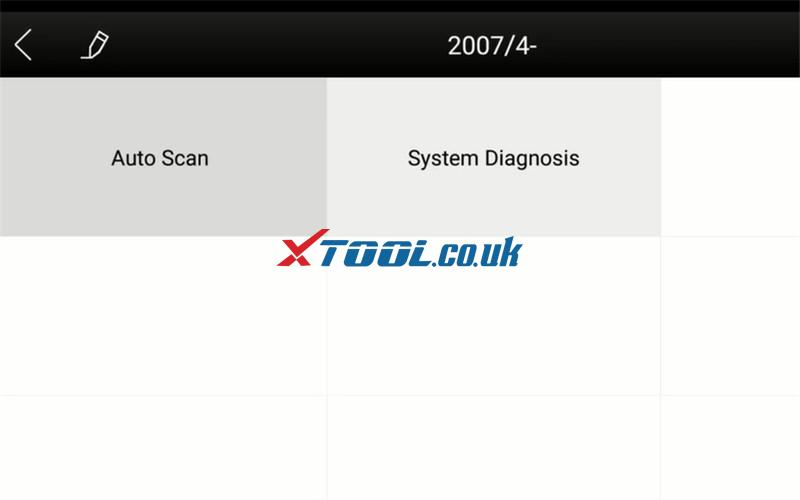 Xtool A30 Test 2007 Nissan Micra C+c 6