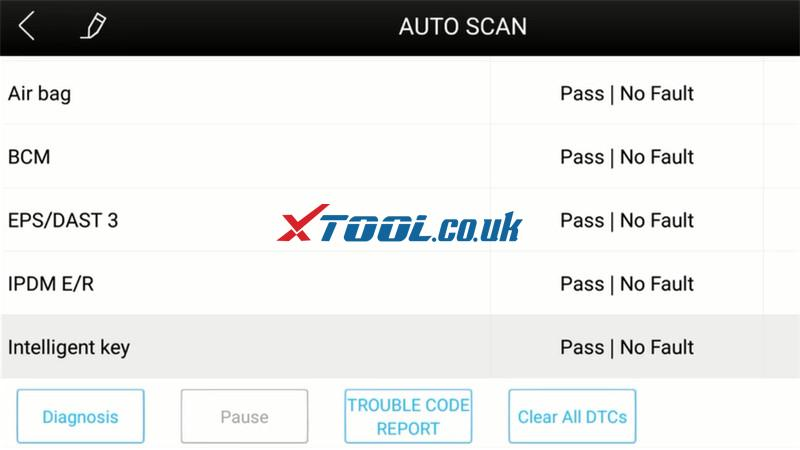 Xtool A30 Test 2007 Nissan Micra C+c 7
