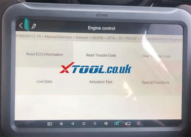 Xtool A80 Pro Hyundai I20 Pb 2016 Injector Code 12