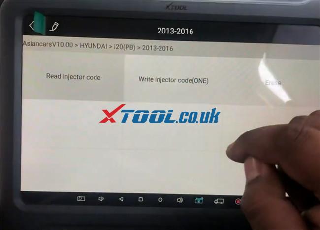 Xtool A80 Pro Hyundai I20 Pb 2016 Injector Code 5