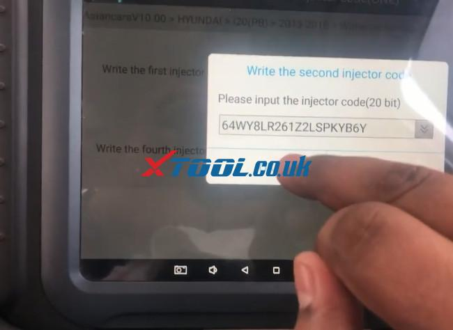 Xtool A80 Pro Hyundai I20 Pb 2016 Injector Code 9