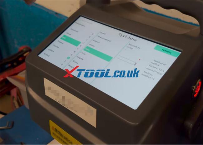 Xtool A80 Pro Program 2015 Vauxhall Adam 1