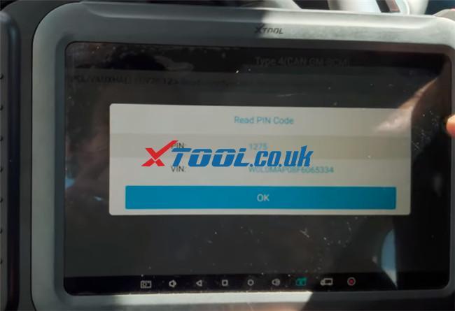 Xtool A80 Pro Program 2015 Vauxhall Adam 11