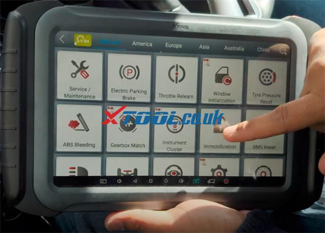 Xtool A80 Pro Program 2015 Vauxhall Adam 9