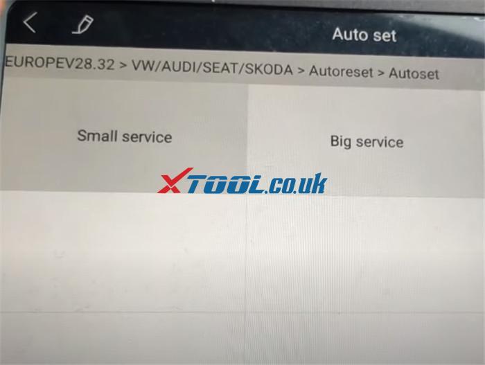 Xtool A80 Pro Reset Service Vw Jetta 4