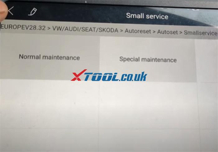 Xtool A80 Pro Reset Service Vw Jetta 5