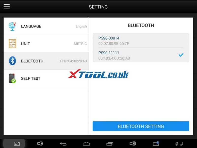 Xtool Ps90 Bluetooth Connection 06