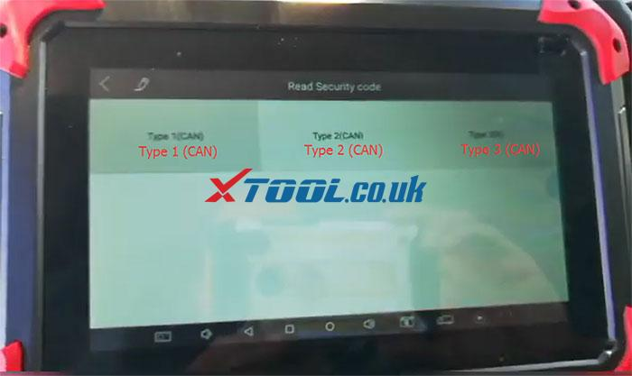 Xtool X100 Pad Read Pin Code Peugeot 2