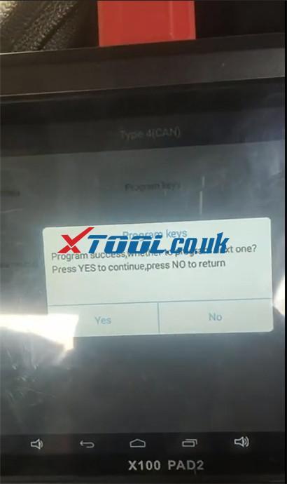 Xtool X100 Pad2 Pro Program Hyundai I20 11