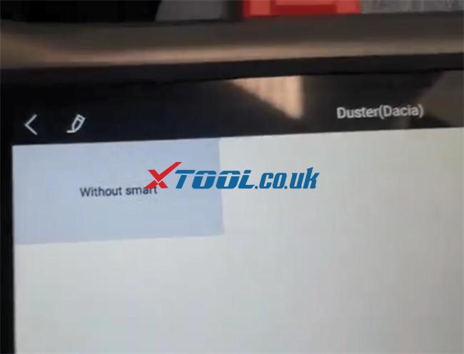 Xtool X100 Pad3 Program 2017 Duster Dacia 8