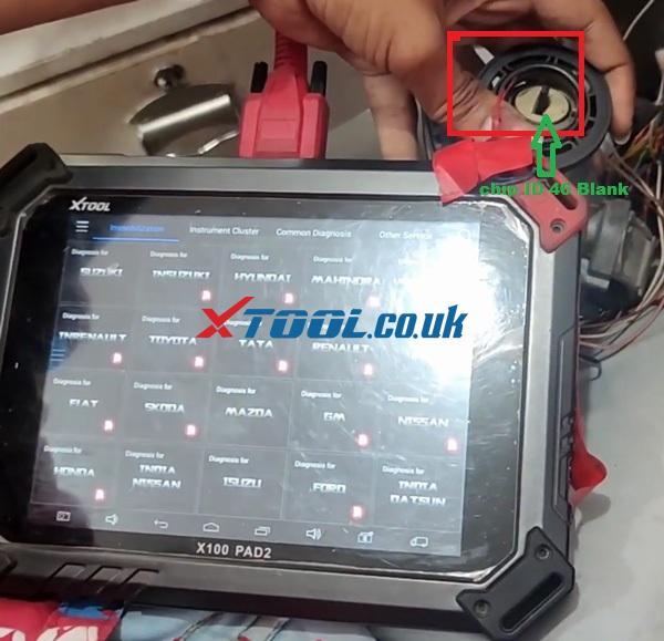 Suzuki Omni 2017 ALL Keys Lost Xtool X100 Pad2 01