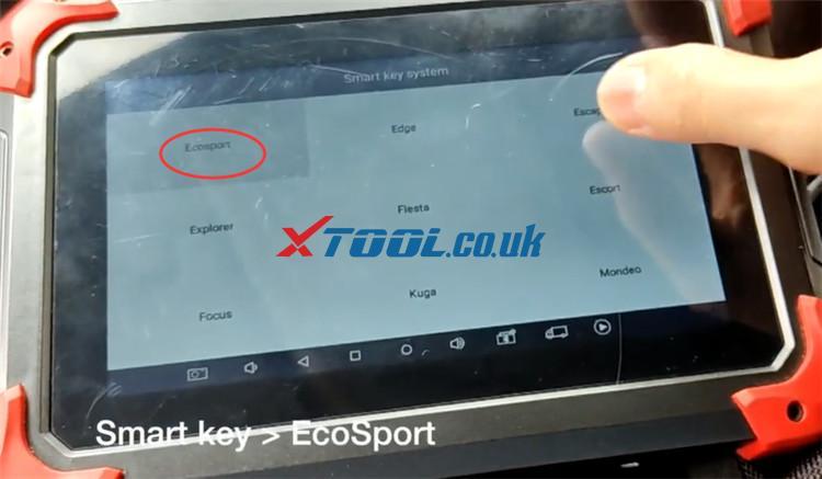 X100 Pad Program 2016 Ford Ecosport 2