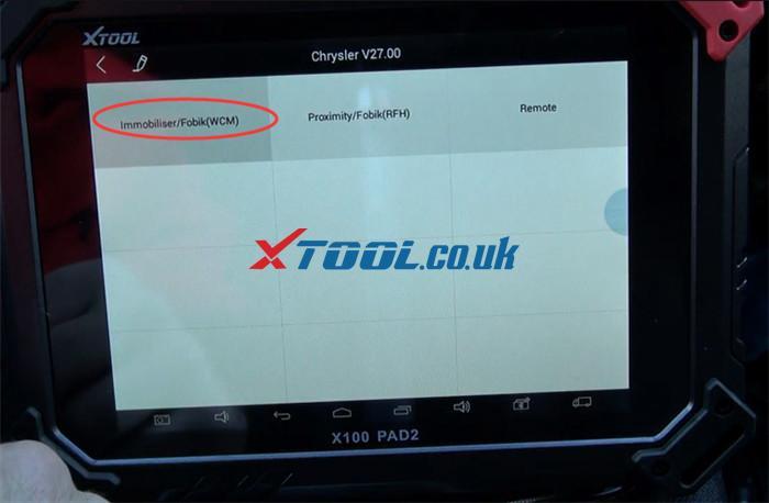 X100 Pad2 Pro Program 2013 Dodge Grand Caravan 2