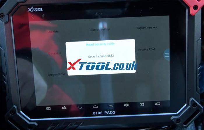 X100 Pad2 Pro Program 2013 Dodge Grand Caravan 6