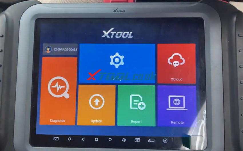 X100 Pad3 Program Hyundai I10 Remote 1